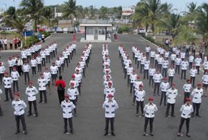 5ª turma de formandos do Colégio Militar Tiradentes