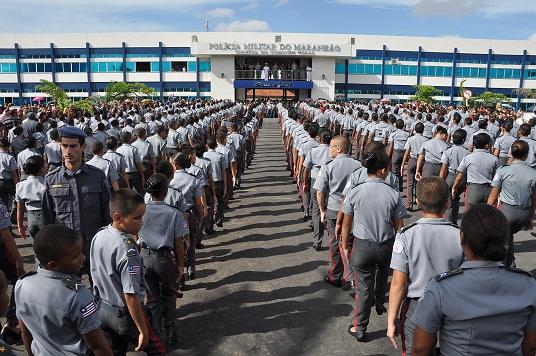 1 Mais de 600 alunos participaram da solenidade