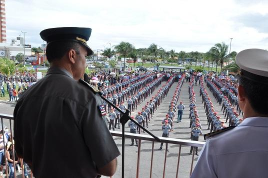 3 Coronel Alves duarnte o pronunciamento