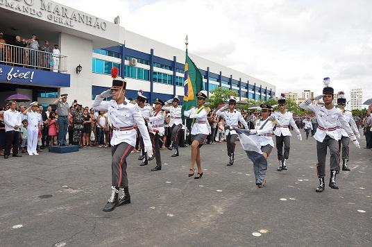 5 Desfile dos alunos