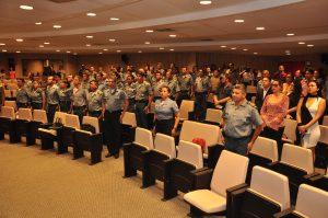 Novos instrutores do PROERD na Polícia Militar maranhense