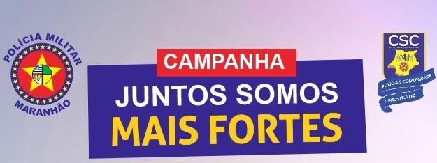 CAMPANHA JUNTOS SOMOS MAIS FORTES