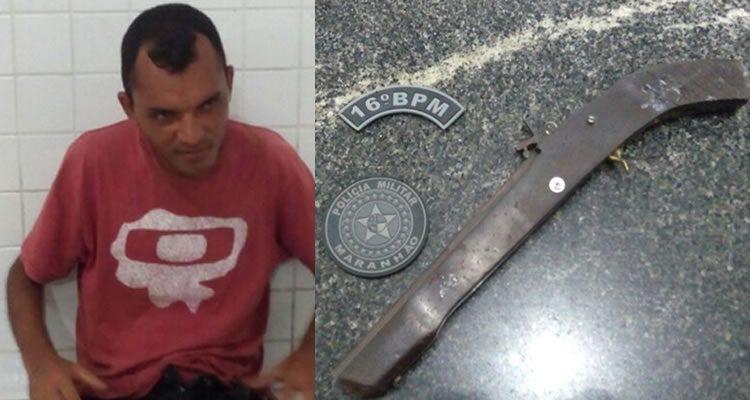 DUAS ARMAS DE FOGO SÃO APREENDIDAS PELA EQUIPE ÁGUIA EM CHAPADINHA