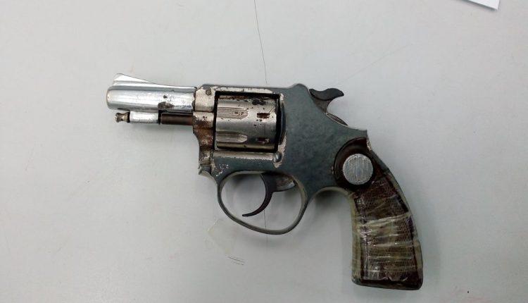 BPTUR apreende arma de fogo na capital