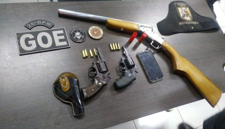 Operação da Polícia Militar resgata vítimas de sequestro e prende suspeito em Buriticupu