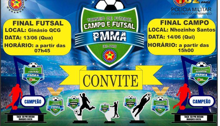 PMMA realiza torneio de futebol em comemoração aos seus 182 anos