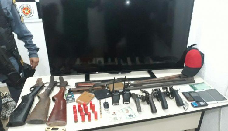 Policiais militares do 3º BPM apreendem armas de fogo em Imperatriz