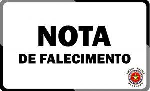 """Nota de pesar pelo falecimento da Funcionária Civil Maria de Jesus """"Dona Dijé"""""""