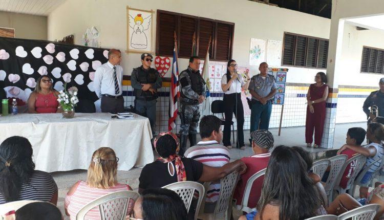 COMANDO DE MISSÕES ESPECIAIS ( CME) PARTICIPA DE HOMENAGEM AO DIA DAS MÃES, EM ESCOLA DO BAIRRO SÃO RAIMUNDO