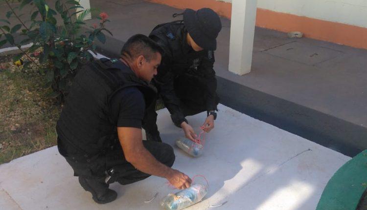 GOE da PMMA em imperatriz desativa explosivos encontrados no presidio Itamaguará