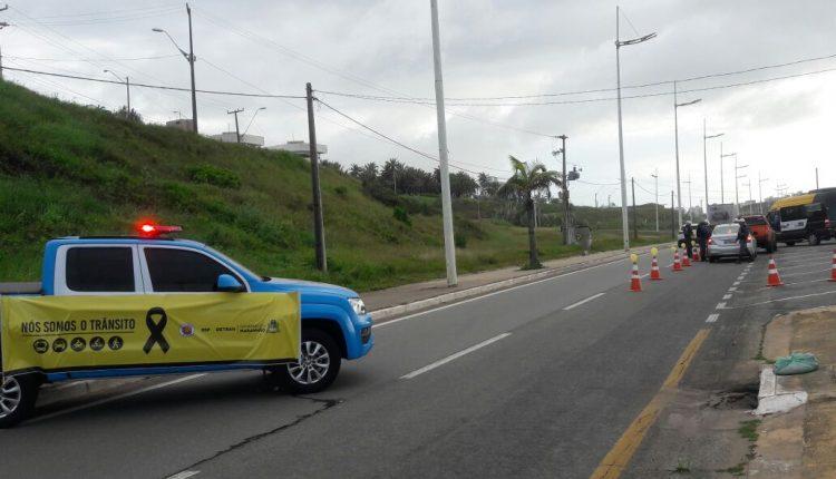 BPRV realiza ações educativas no trânsito