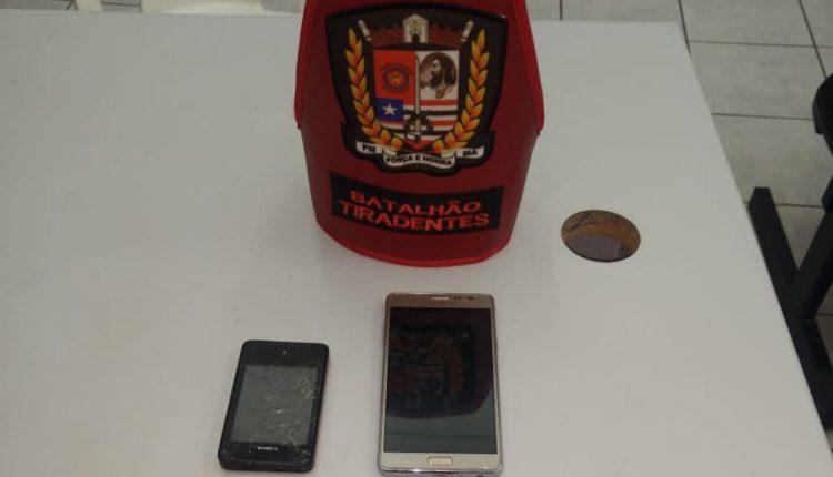 Policiais do Batalhão Tiradentes prendem suspeitos de roubo a coletivo