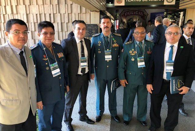 Comandante geral da PMMA participa de Seminário Nacional de Segurança Pública em Brasília