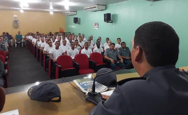 APMGD recepciona cadetes do 1º ano do CFO da PMMA