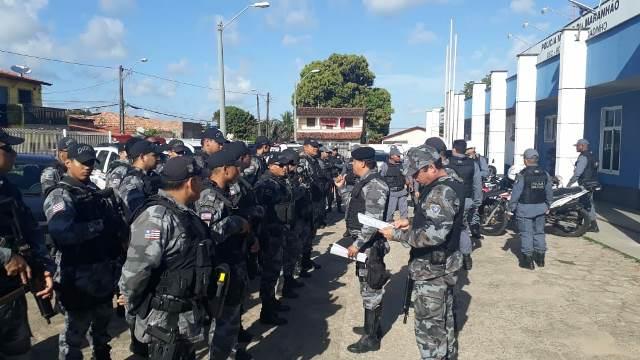 Comando de Missões Especiais apreende espingarda calibre 12 durante Operação Saturação no Bairro do Coroadinho