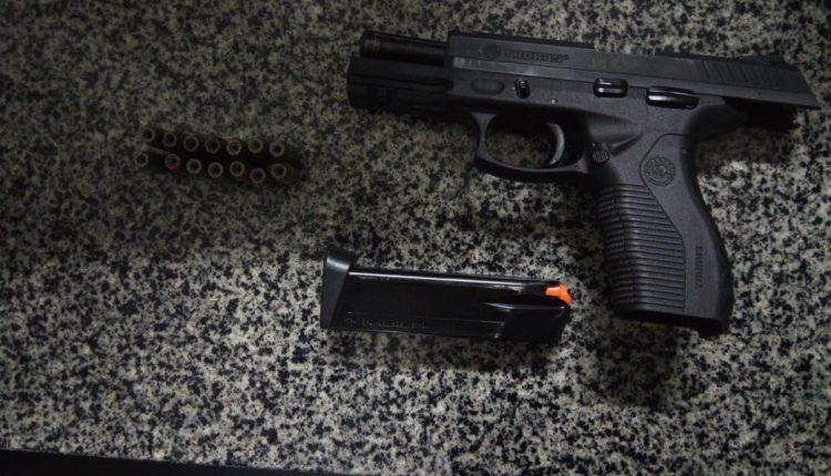 Ação rápida de policiais do BPRV resulta em mais uma apreensão de arma de fogo