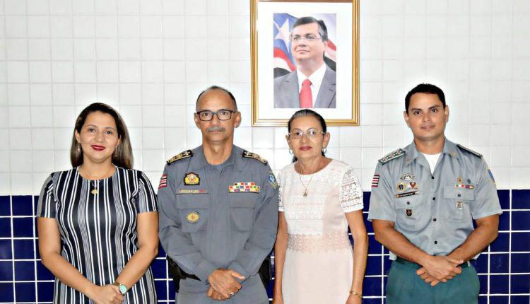 16º BPM firma parceria com a Prefeitura de Chapadinha e Câmara Municipal