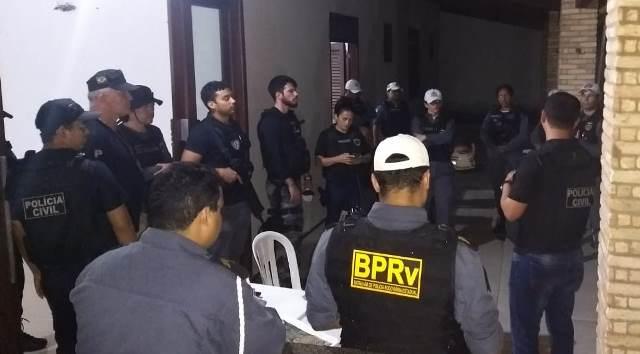 Polícias desencadeiam Operação Forças Integradas na área do Bairro Araçagy
