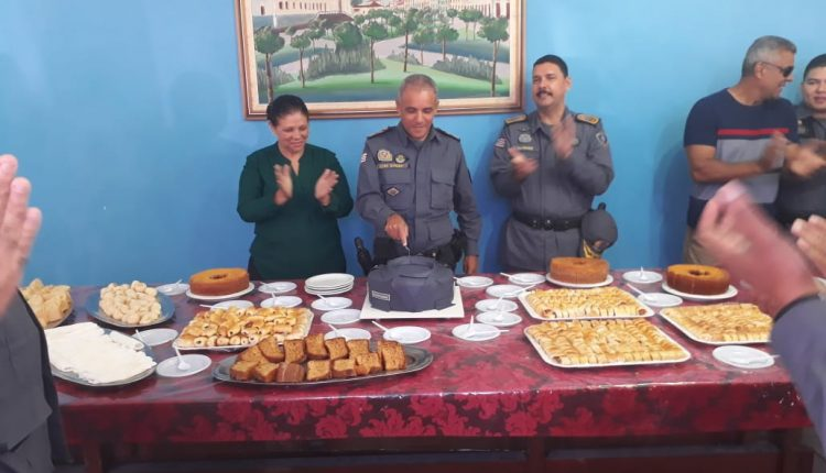 Subcomandante geral coronel Pedro Ribeiro comemora mais um ano de vida
