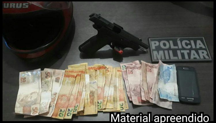 27ª BPM prende em flagrante suspeito de praticar assalto em Santa Rita- MA