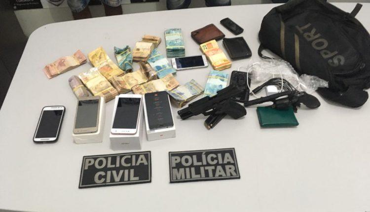 AÇÃO CONJUNTA DAS POLÍCIAS MILITAR E CIVIL PRENDE ASSALTANTES DO CORREIOS DE CURURUPU/MA