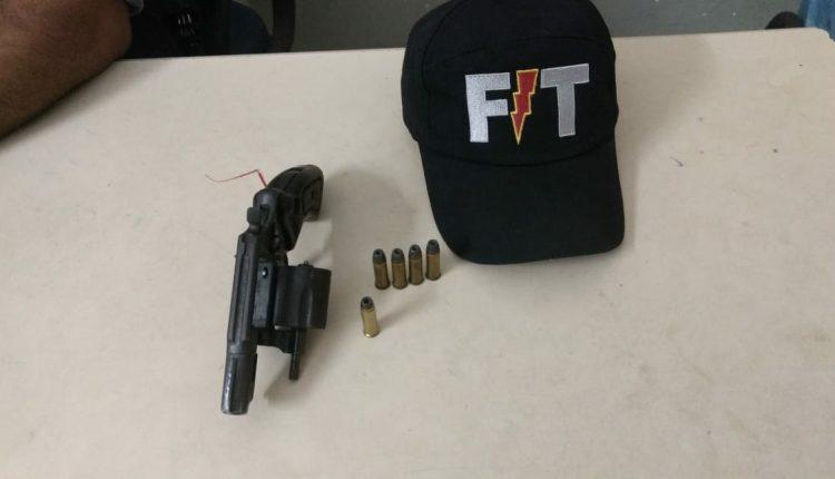 2º BPM retira de circulação mais uma arma de fogo na cidade de Caxias
