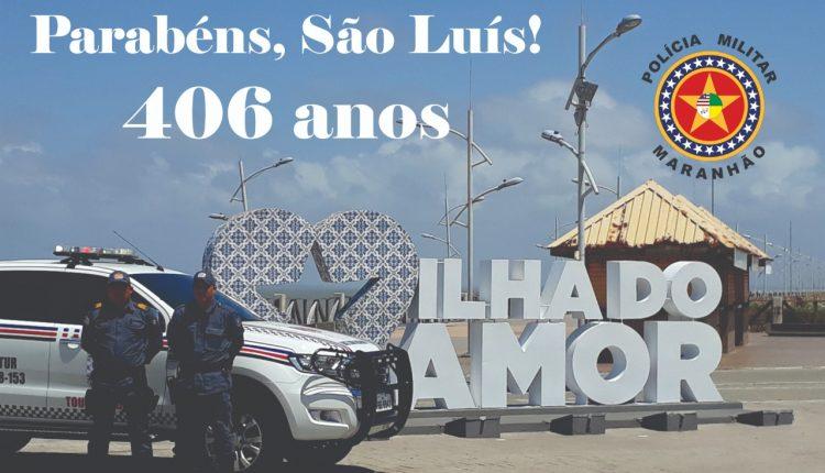 PARABÉNS, SÃO LUÍS 406 ANOS!
