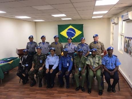 Delegação brasileira visita missão de paz no Sudão do Sul