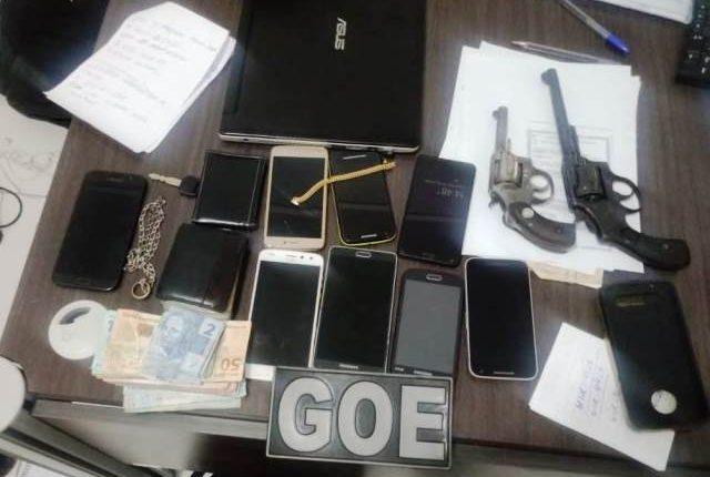 POLÍCIA MILITAR PRENDE DUPLA DE ASSALTANTES EM CAXIAS