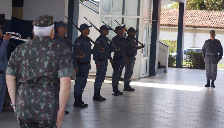 COMANDANTE DA 8ª REGIÃO MILITAR VISITA QUARTEL DO COMANDO GERAL DA PMMA