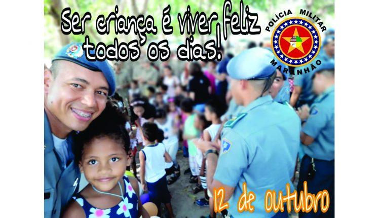 homenagem da polícia Militar do maranhão ao dia das crianças