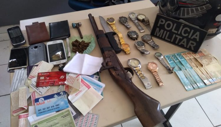 POLICIAIS MILITARES DO 2° BPM PRENDEM QUATRO SUSPEITOS NA ZONA RURAL DE CAXIAS-MA