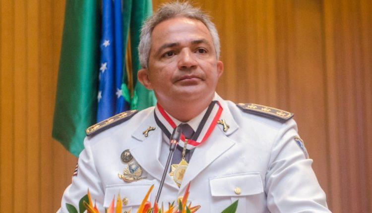 Coronel PM Eurico Alves é condecorado com medalha da Assembleia Legislativa do Maranhão