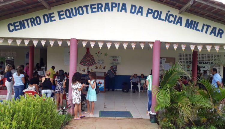 CONFRATERNIZAÇÃO DO CENTRO DE EQUOTERAPIA DA POLICIA MILITAR DO MARANHÃO E SEUS PARCEIROS
