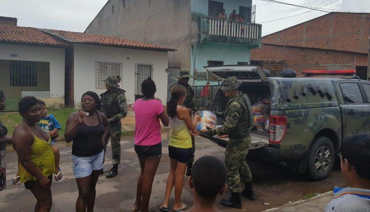 Cosar promove Natal Solidário no Jaracaty e Vila Cristalina em São Luís