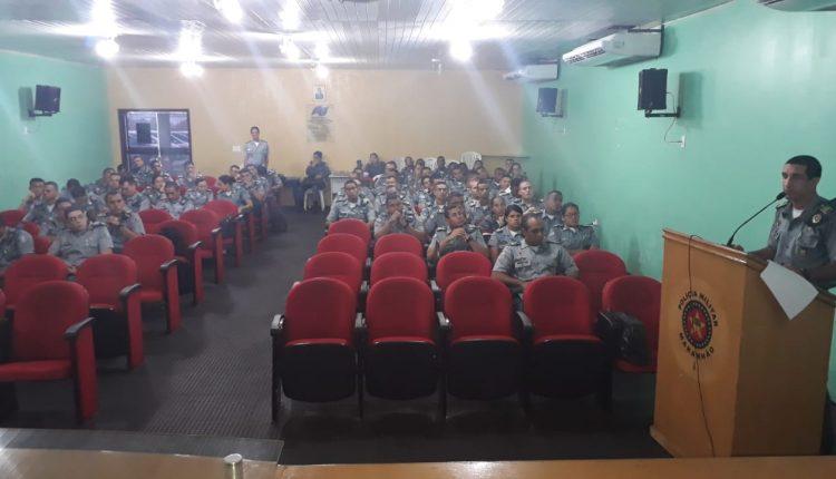 Cadetes da Academia de Polícia Militar Gonçalves Dias da PMMA iniciam apresentação de monografias
