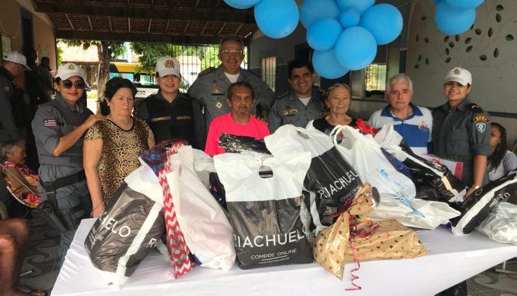 BPRv realiza ação solidária em asilo na capital
