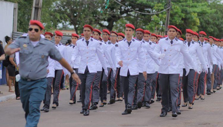 PMMA realiza formatura do Colégio Militar Tiradentes VI