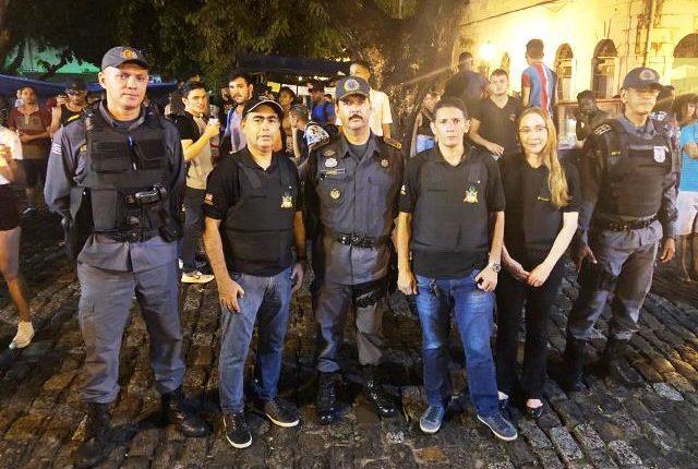 Comandante Geral da PMMA participa de operação no Centro Histórico de São Luís
