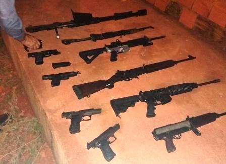 Ação do 26º BPM e da Polícia Civil apreende explosivos e armas de grosso calibre em Açailândia-MA