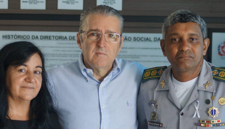 Diretoria de Saúde e Promoção Social recebe visita do diretor do hospital HSLZ