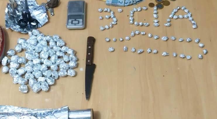 2º BPM desarticula ponto de venda de drogas em Coelho Neto – MA