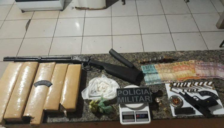 Operação do BPTur prende suspeitos de tráfico e roubo em Atins e povoados vizinhos