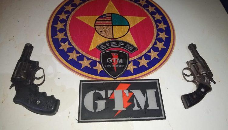6º BPM aprende mais armas de fogo e munições em sua área de atuação