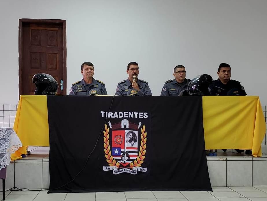 PMMA inicia nivelamento em motopatrulhamento tático em São Luís