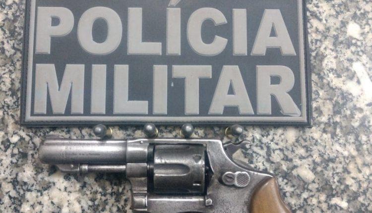 MAIS UMA ARMA DE FOGO TIRADA DE CIRCULAÇÃO EM VITORINO FREIRE
