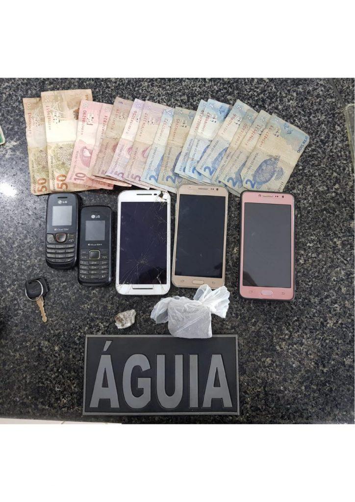 Equipe Águia do 16º BPM prende homens após assaltos em Chapadinha