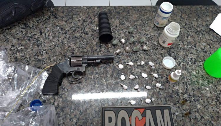 Policiais do 11º BPM apreendem mais uma arma de fogo em Timom