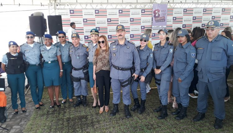 Comandante geral participa de solenidades em comemoração ao dia Internacional da Mulher