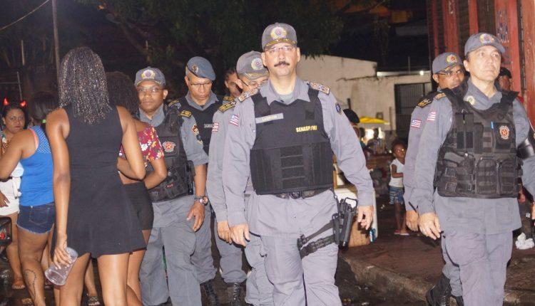 População elogia esquema de segurança da PMMA no carnaval de São Luis